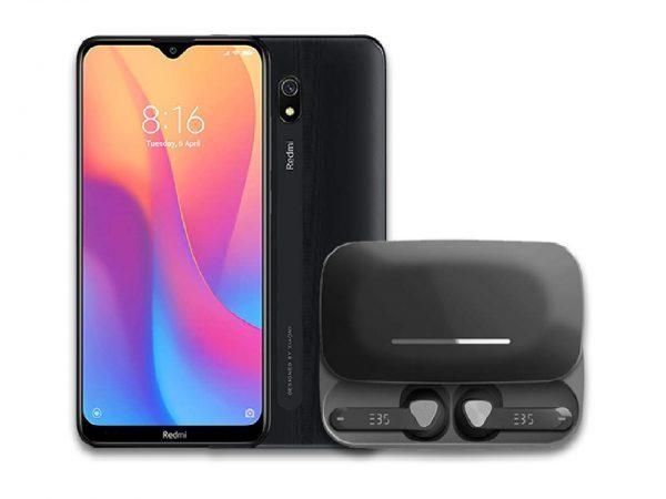 Redmi 8A + EBS Bluetooth Earpods