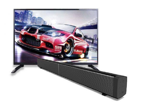 TechX 40″ Smart TV + 30″ Sound Bar