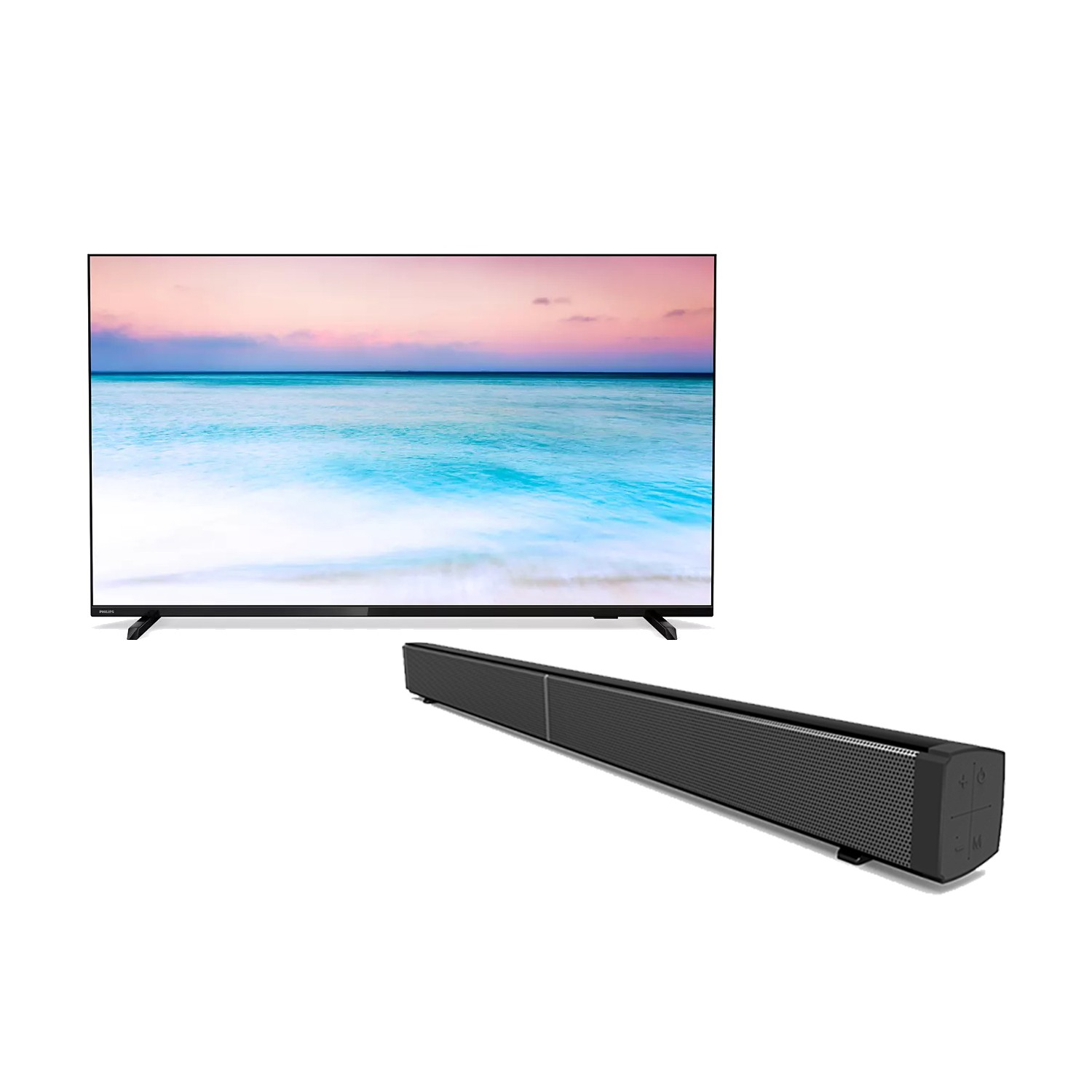 Phillips 50 inch Smart tv with 30″ Sound Bar