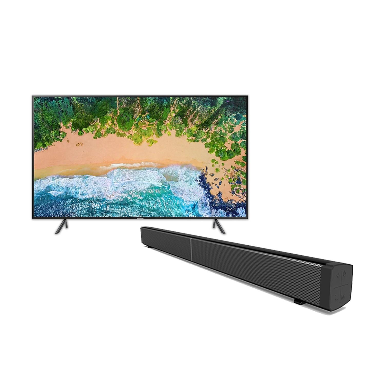 Samsung 43 inch Smart TV+ 30″ Sound bar