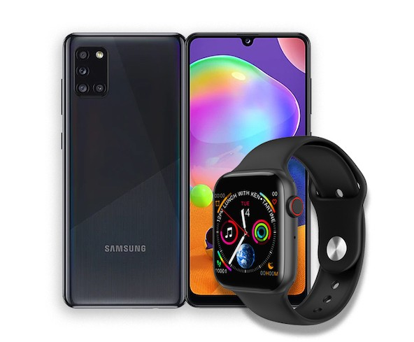 Samsung Galaxy A31 + Android Smart Watch