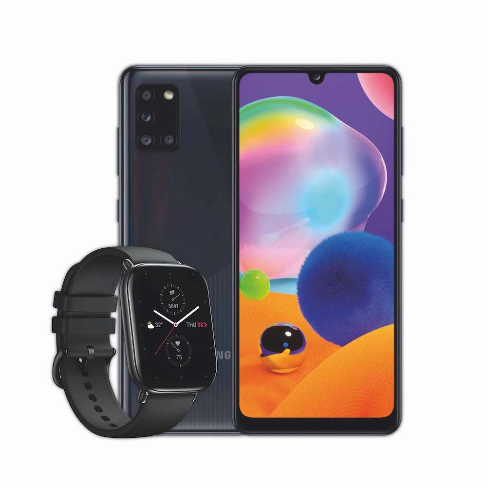Samsung Galaxy A31 + Smart Watch