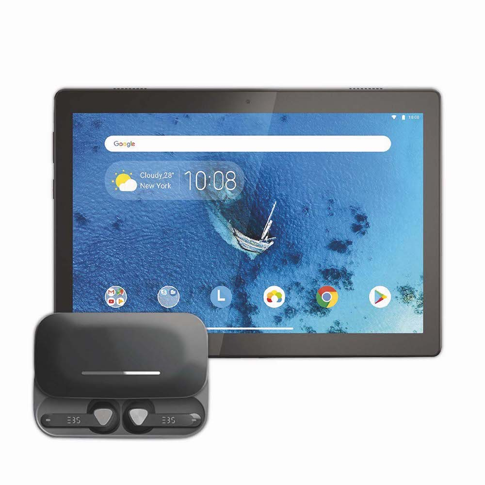 Lenovo 10″ Android Smart Tablet + EBS Earpods