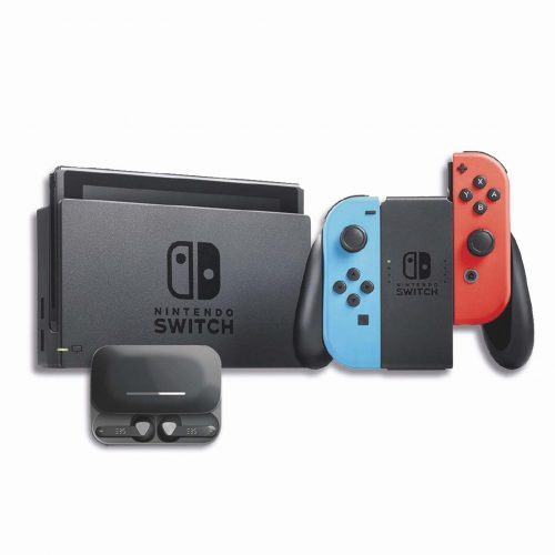 Nintendo Switch Neon + EBS Bluetooth Earpods